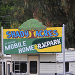 Shady acres mobile home rv park