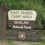 East dunes campground