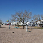 A bar a rv park storage