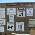 Horsfall beach campground