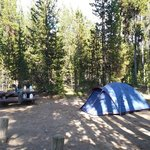 Paulina lake campground
