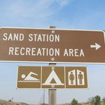 Sand station recreation area