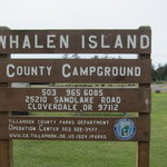 Whalen island campground