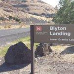Blyton landing