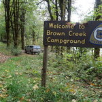 Brown creek campground