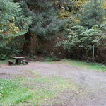 Falls creek campground olympic nf