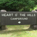 Heart o the hills campground