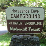 Horseshoe cove campground