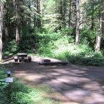 Horseshoe cove campground