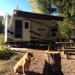 Napeequa crossing campground