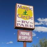 Magic circle rv park