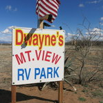 Mountain view rv park bowie