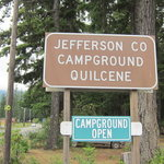Quilcene community campground