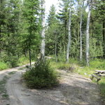 Rock lakes campground