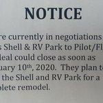 Holts shell rv park