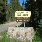 Takhlakh lake campground