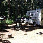 Takhlakh lake campground