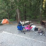 White river campground mount rainier np