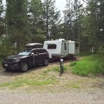 Alpine campground caribou targhee nf