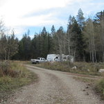 Box creek trailhead campground