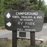 Colter bay village rv park