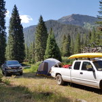Cottonwood lake campground bridger teton nf