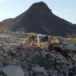 Dome rock mountain