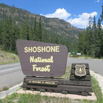 Eagle creek campground shoshone nf