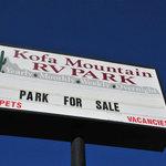 Kofa mountain rv park