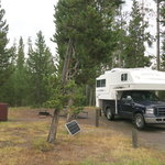 Indian creek campground yellowstone np