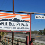 Split rail rv park