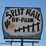 Split rail rv park