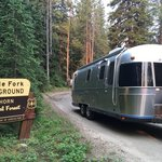 Middle fork campground bighorn nf