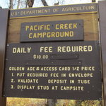 Pacific creek campground