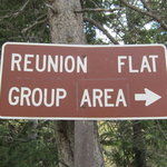 Reunion flat campground