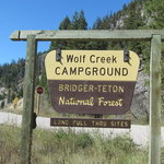 Wolf creek campground caribou targhee nf