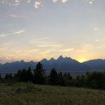 Shadow mountain