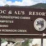 Doc al s robinson creek resort