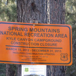Kyle canyon campground