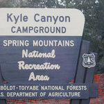 Kyle canyon campground