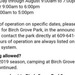 Birch grove park campground