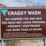 Craggy wash