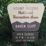 Raven cliff campground