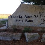Lake le aqua na state recreation area