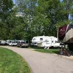 White river campground
