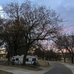 Airport park campground