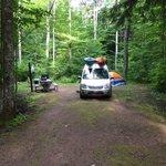 Autrain lake campground