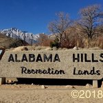 Alabama hills recreation area