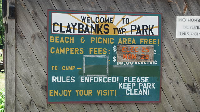 Claybanks township park