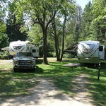 East branch fox river campground
